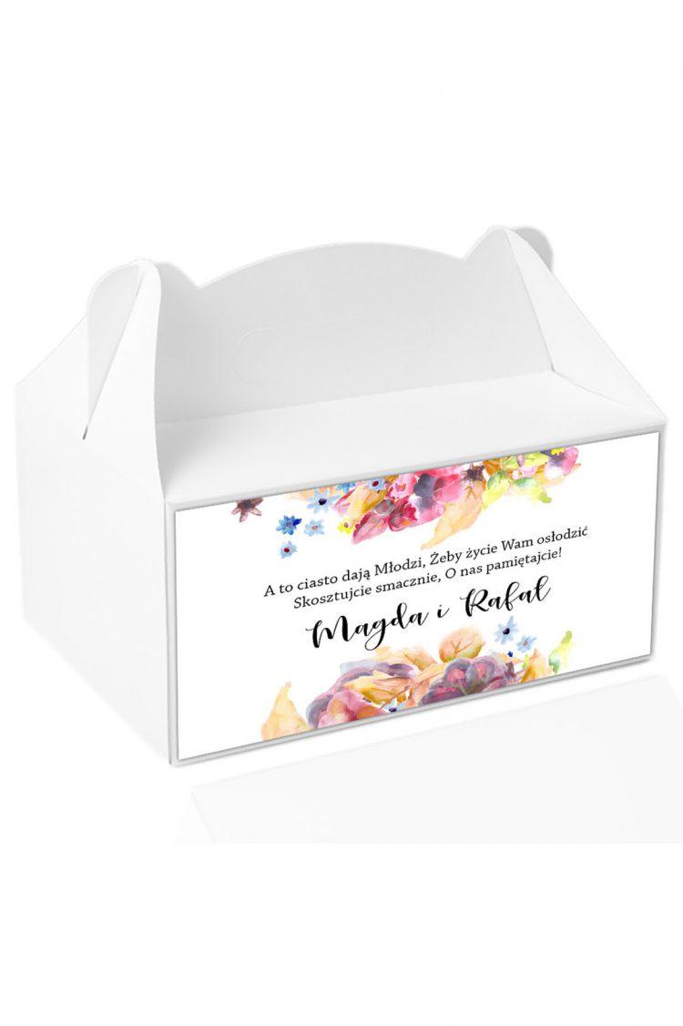 Naklejki na pudełka z ciastem, wzór 201_1