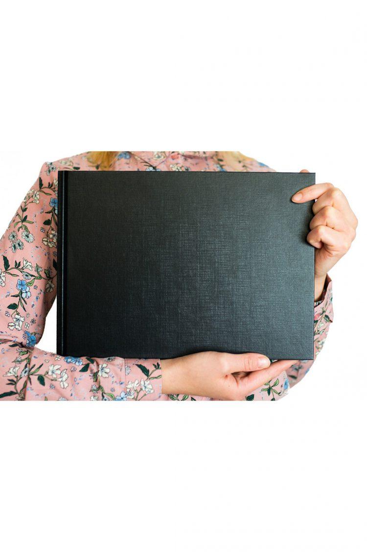księga gości baza czarna