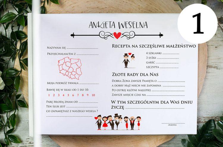 Ankiety weselne AA1
