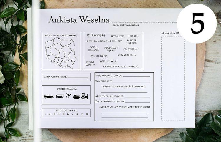 Ankiety weselne AA5