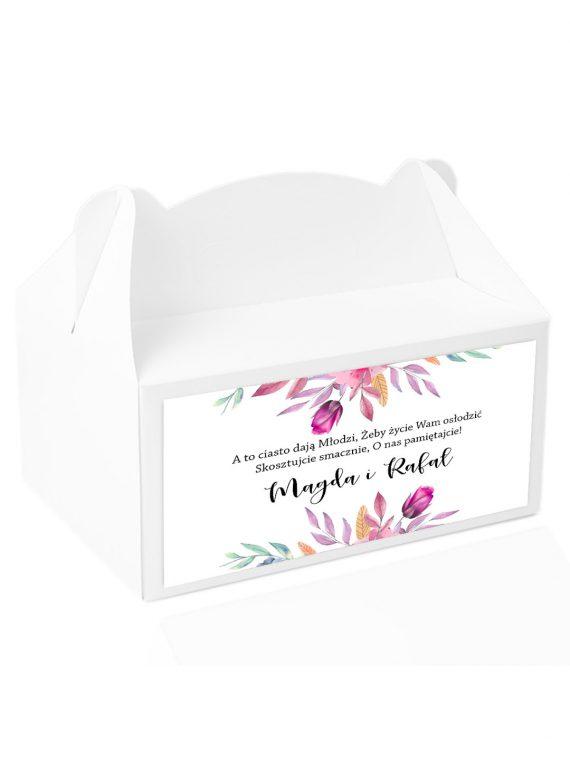 Naklejki na pudełka z ciastem wz201_11