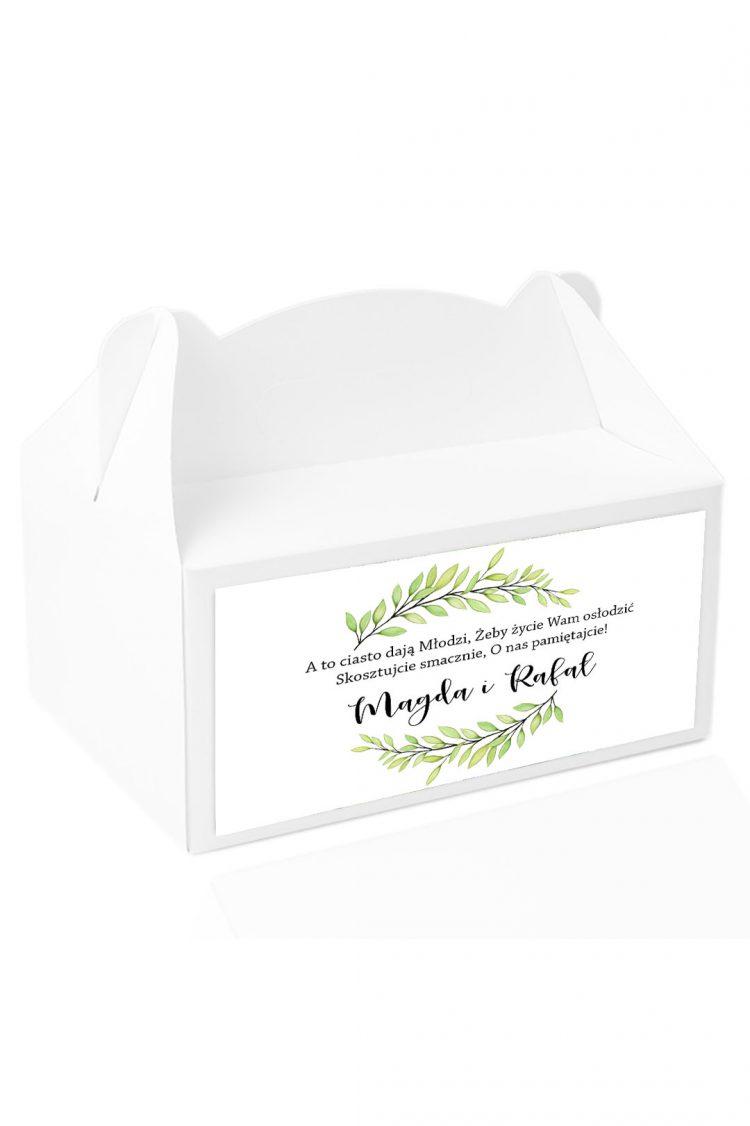 Naklejki na pudełka z ciastem wz201_32