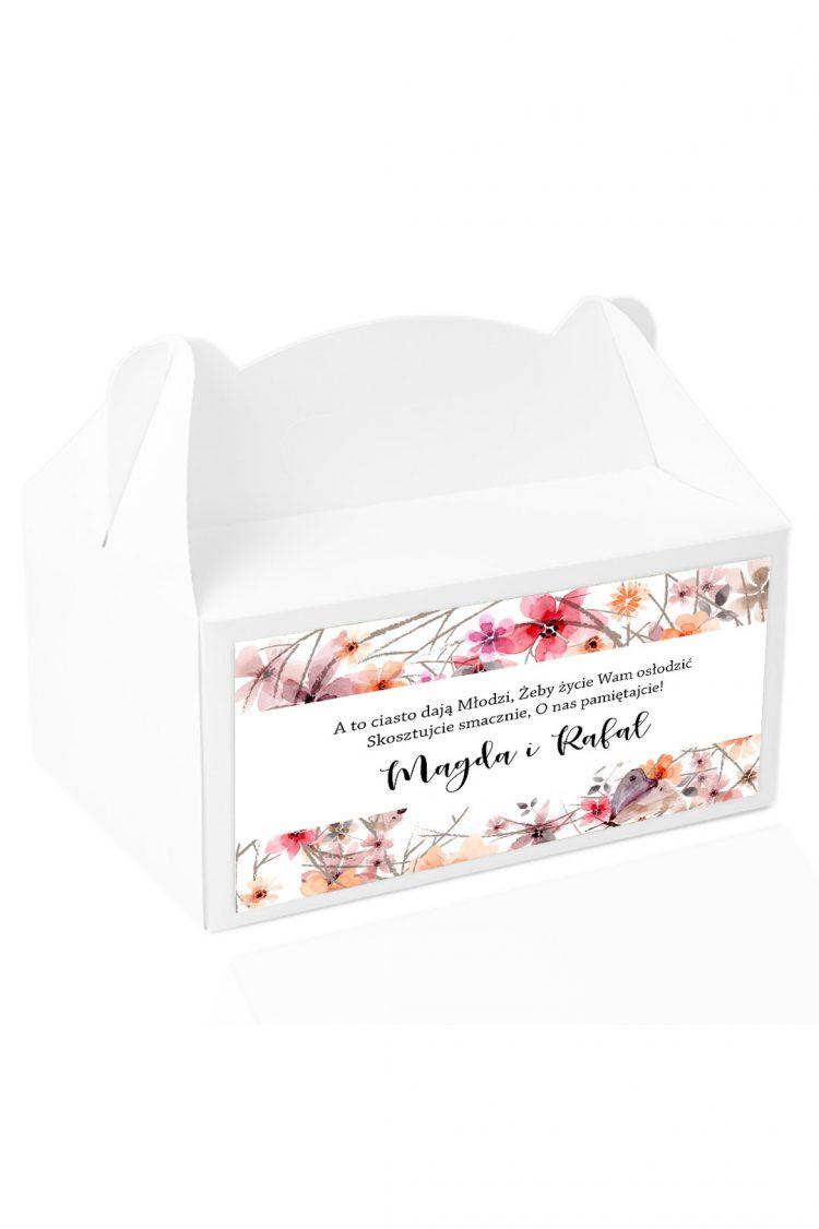 Naklejki na pudełka z ciastem wz201_43