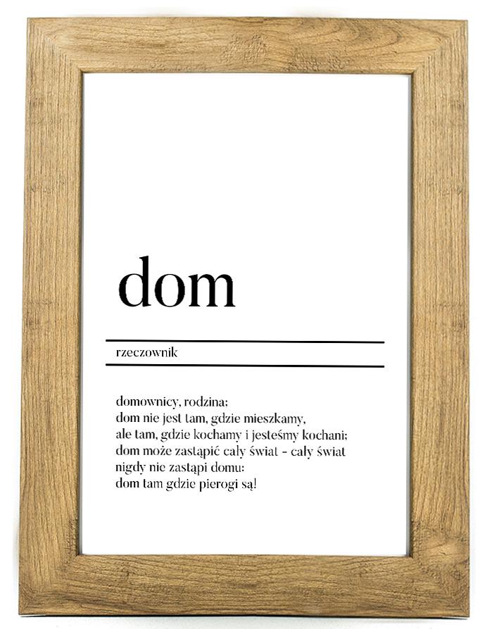 Plakat dekoracyjny D1