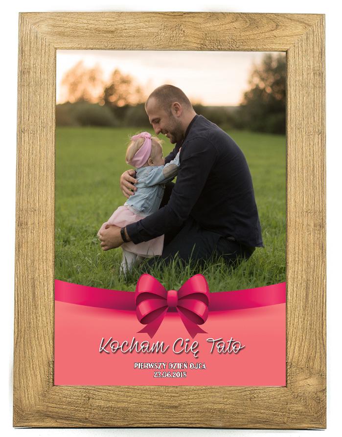 Prezent na dzień ojca, taty, plakat, pamiątka DO10