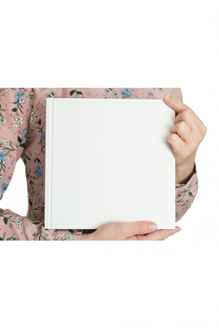 księga gości baza biała kwadrat