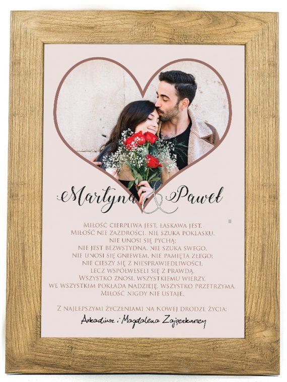 Plakat, prezent na ślub, rocznicę ślubu 30 rocznica SR6