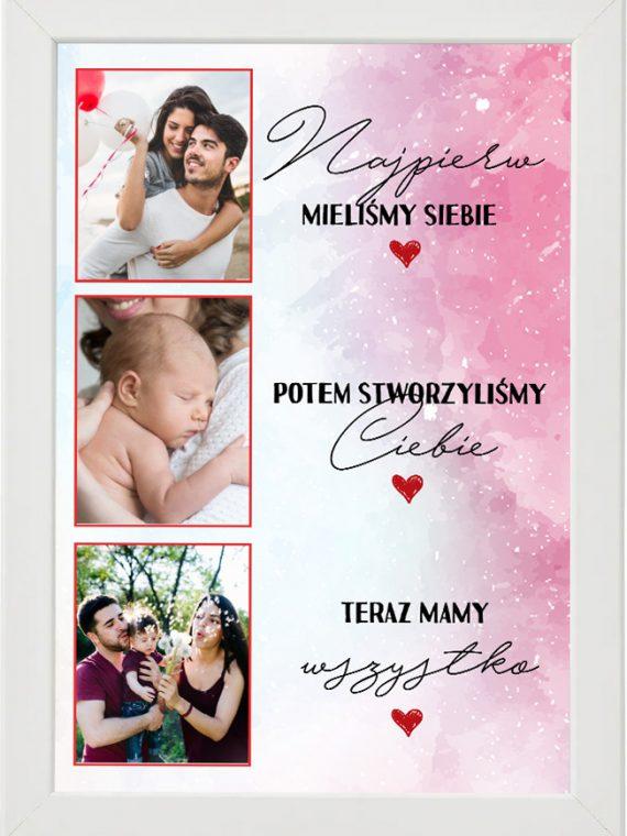 Prezent na walentynki, plakat dla bliskiej osoby W1
