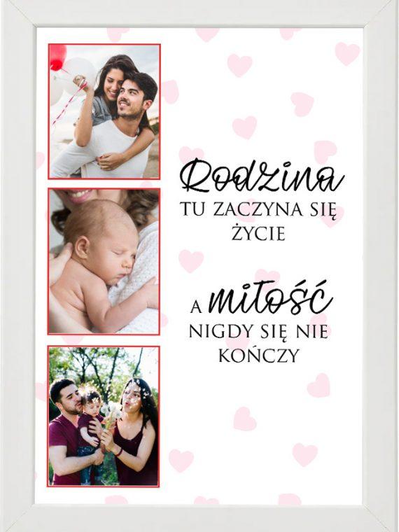 Prezent na walentynki, plakat dla bliskiej osoby W2