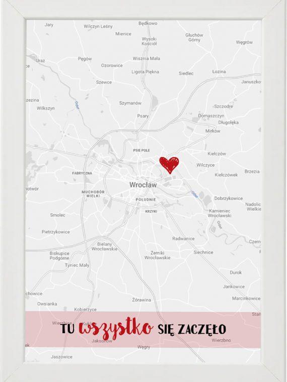 Prezent na walentynki, plakat dla bliskiej osoby W3