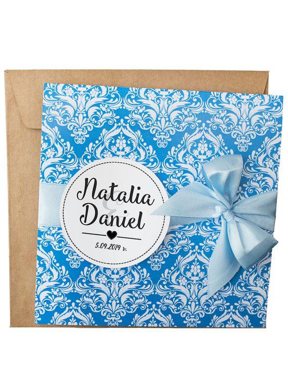 zaproszenia ślubne ornament kolor niebieski 200_8