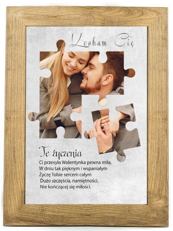 Prezent na walentynki, plakat dla bliskiej osoby W12