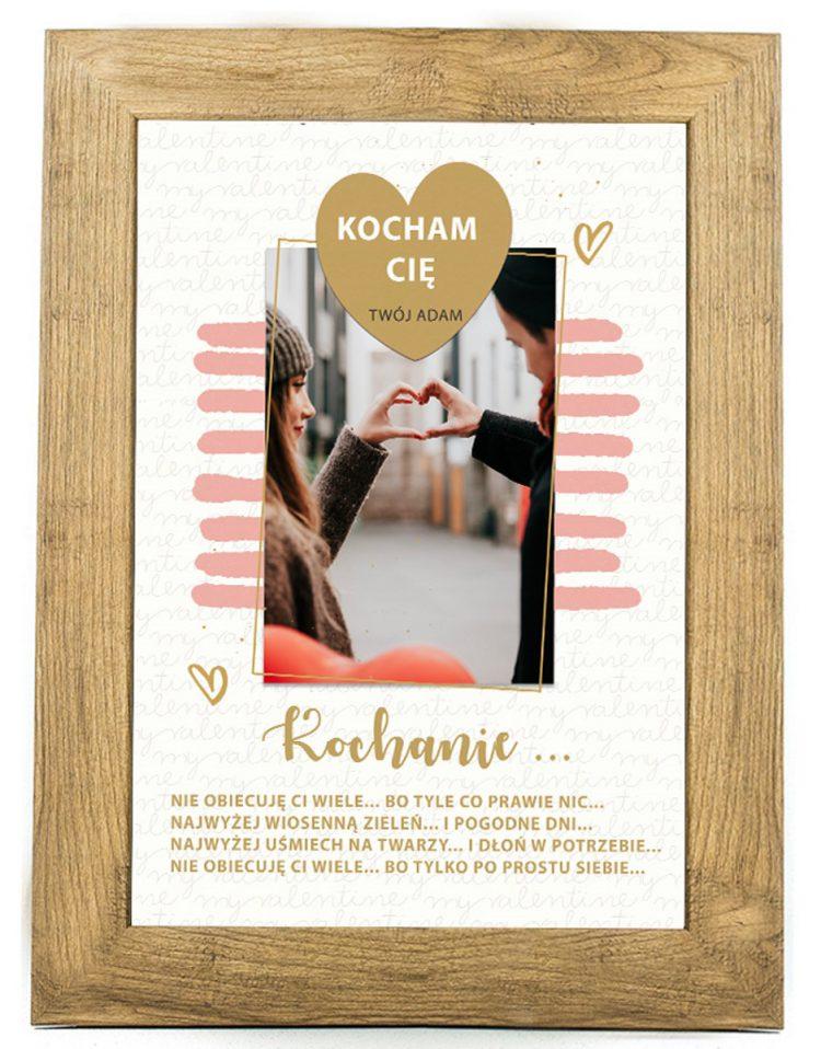 Prezent na walentynki, plakat dla bliskiej osoby W14