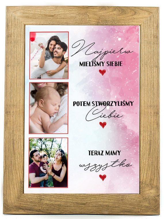 Prezent na walentynki, plakat dla bliskiej osoby W17
