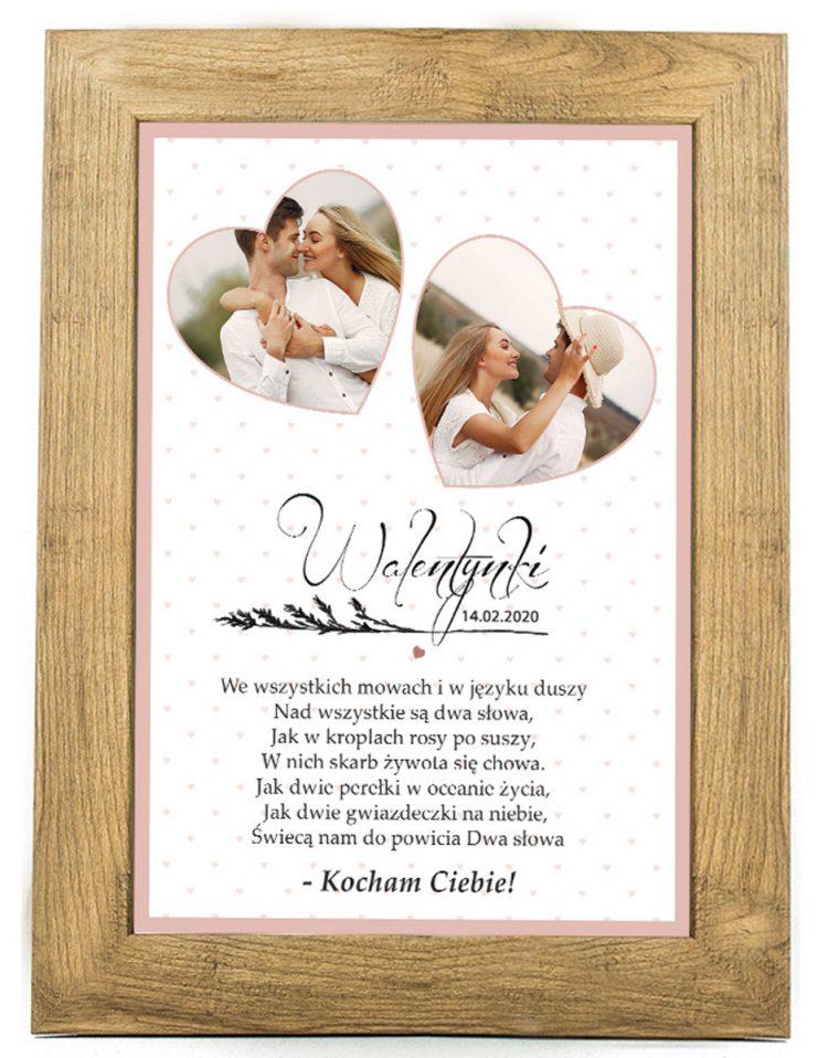 Prezent na walentynki, plakat dla bliskiej osoby W5