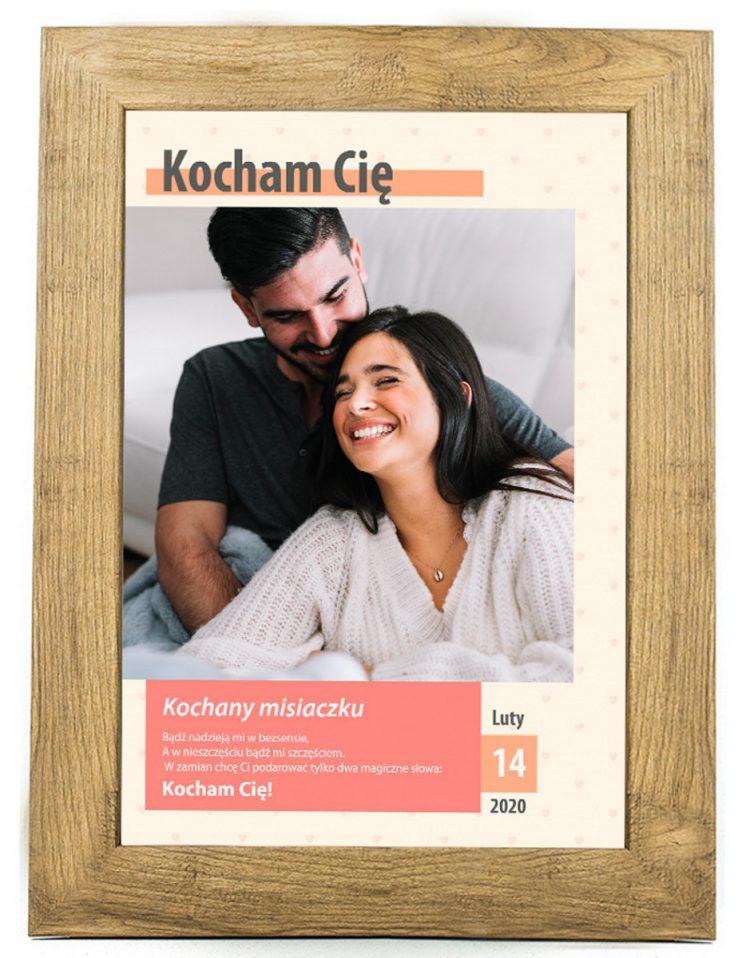 Prezent na walentynki, plakat dla bliskiej osoby W6