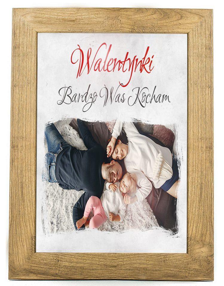 Prezent na walentynki, plakat dla bliskiej osoby W8