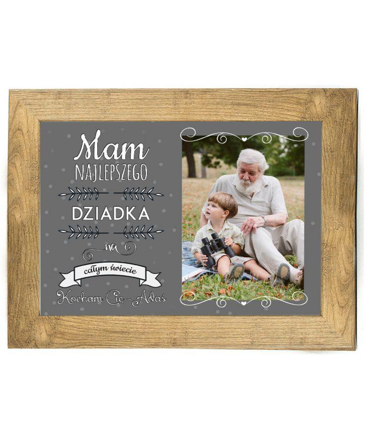 Prezent na dzień Babci/Dziadka plakat od wnuków BD42