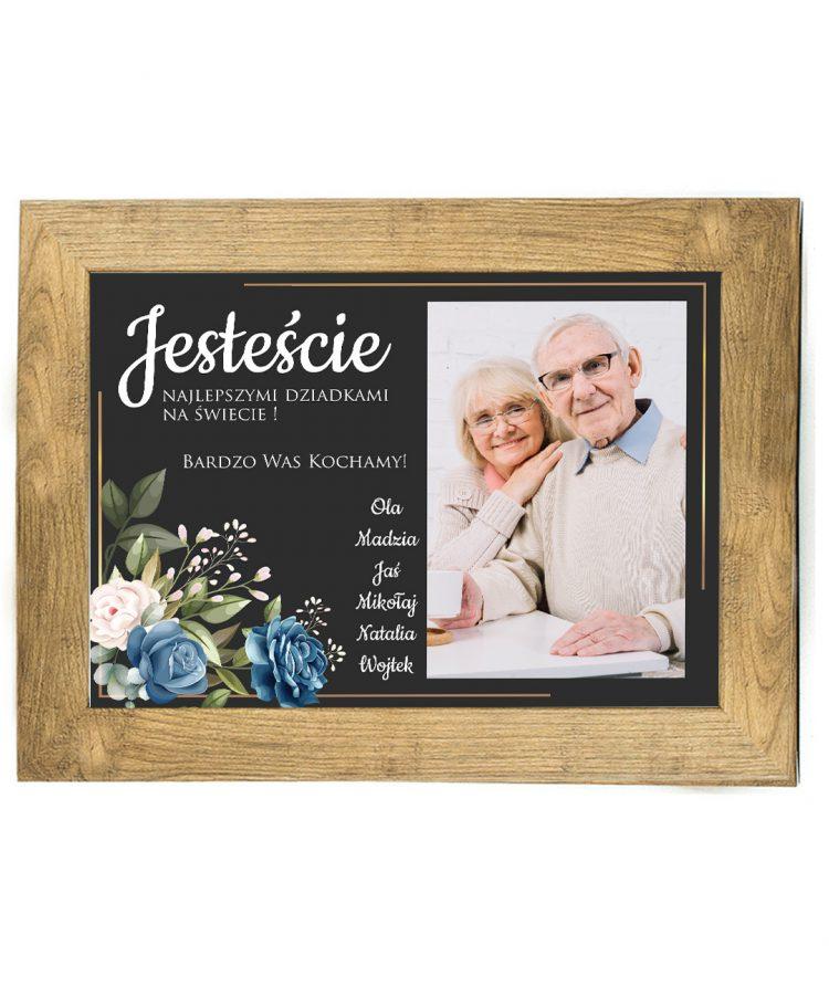 Prezent na dzień Babci/Dziadka plakat od wnuków BD44