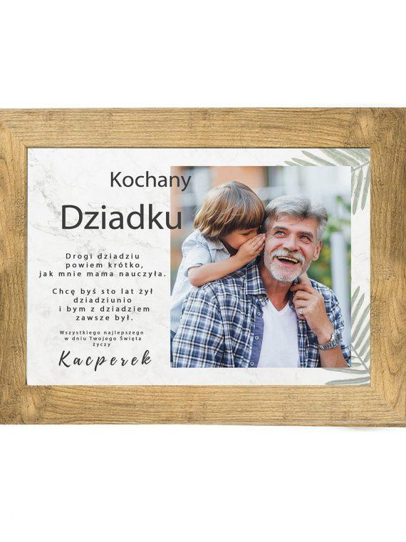 Prezent na dzień Babci/Dziadka plakat od wnuków BD46